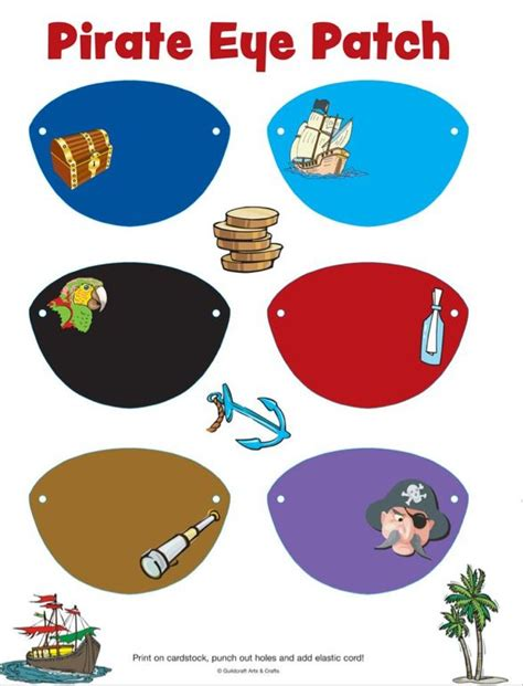How To Make A Pirate Eye Patch Out Of Paper - 52 best images about disney s the pirate on