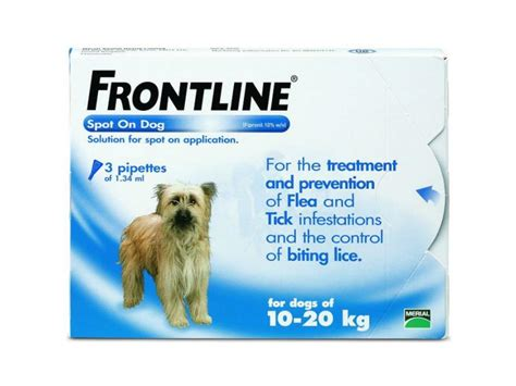 Canine Selection 20kg frontline flea spot on treatment for dogs and cats
