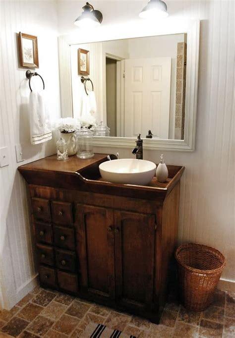 dry sink used as bathroom vanity for the home pinterest