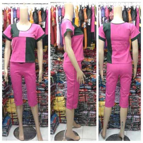Preti 4 Jumbo Supplier Baju Murah jual baju senam jumbo 3 4 murah kode kt343l 018 baju senam murah toko baju dan grosir murah