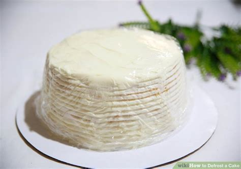 How to Defrost a Cake: 9 Steps (with Pictures)   wikiHow