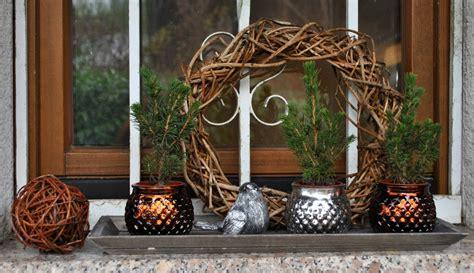 Weihnachtsdeko Fensterbank Draussen by Gartendeko Weihnachtsdeko Vom Blumenversand