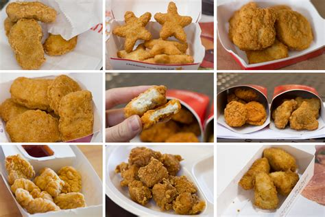 taste test the best fast food chicken nuggets serious eats