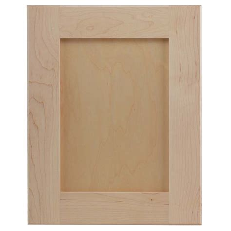 Wood Kitchen Cabinet by Flat Panel Cabinet Doors