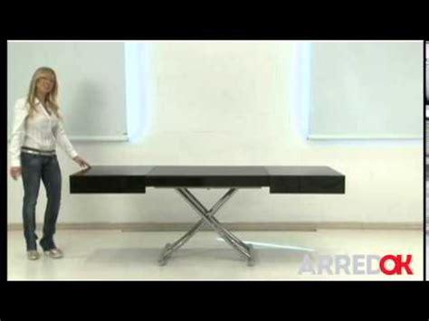 tavolo trasformabile calligaris tavolo trasformabile box by ozzio design