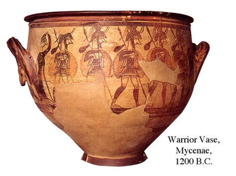 Mycenaean Warrior Vase by Pin Warrior Vase Mycenae War Motifs Mycenaean Boars Tusk