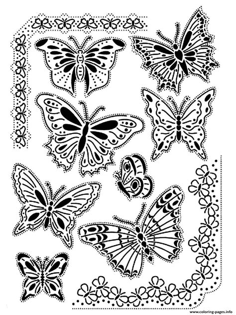 difficult butterfly coloring pages cute butterfly coloring pages for adults coloring home