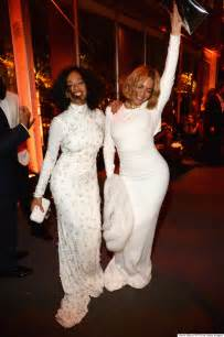 Solange Vanity Fair Oscar Beyonce Shut The Oscars 2015 After In A