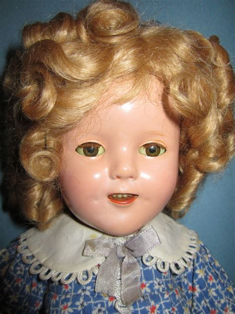composition shirley temple doll ideal 16 quot composition shirley temple doll from lornasdolls