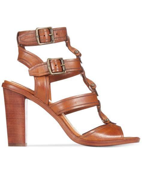 frye gladiator sandals frye s gladiator sandals in brown lyst