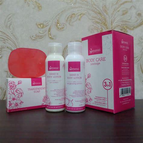 Jual Lotion jual lotion hanasui 3 in 1 perawatan tubuh bpom