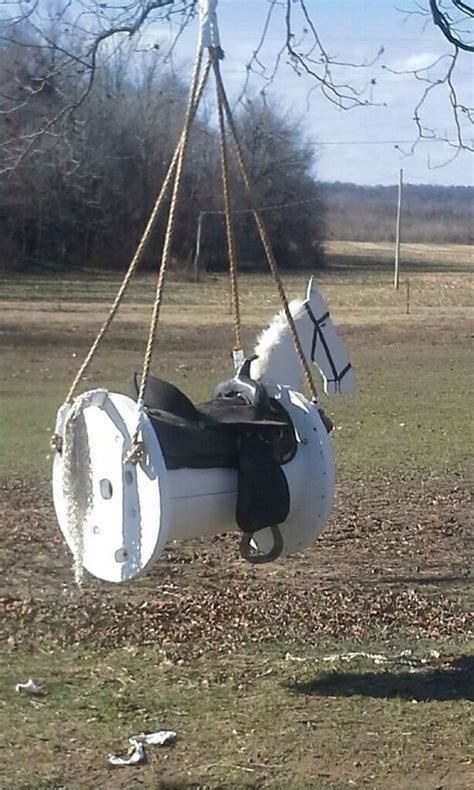 horse swing set 19 fresh takes on upcycled wooden cable spools for easy
