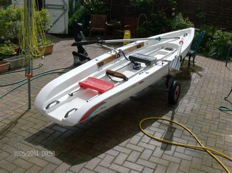 used rowing boats for sale second hand - Sculling Boat For Sale Used
