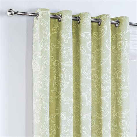 curtains with green curtina somerford lined eyelet curtains green