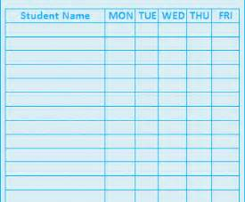 Best Sheets Online by Attendance Sheet Template Playbestonlinegames