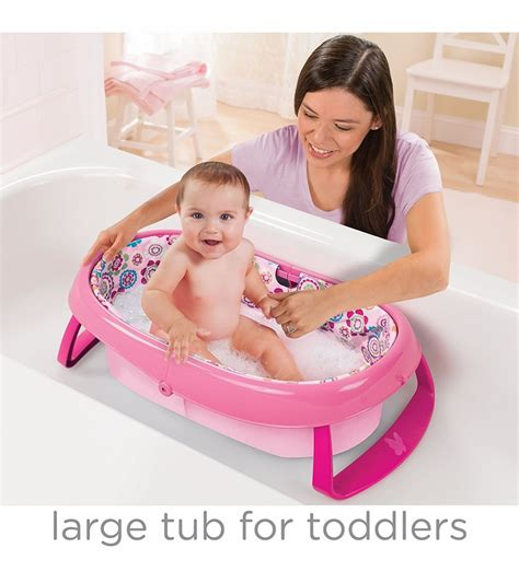 Summer Infant Easy Store Comfort Tub Pink summer infant easystore comfort tub pink
