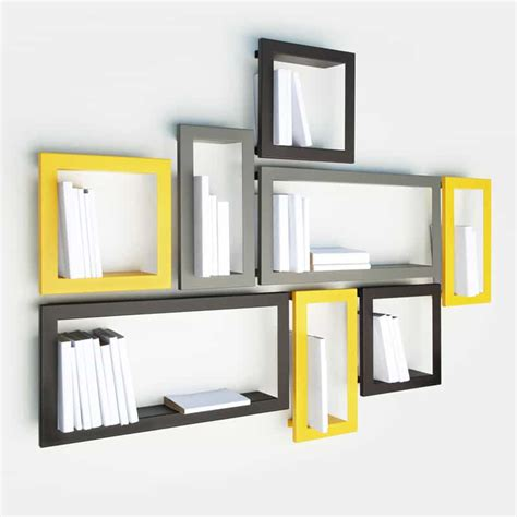 Frame Shelf by Creative Wall Decoration With Picture Frame Shelves