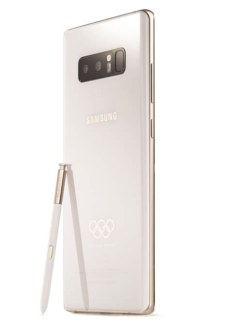 Samsung Note 8 Feb 2018 Samsung Has Made A Limited Edition Galaxy Note 8 For The