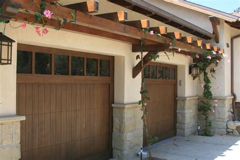 Garage Pergola Plans by Garage Pergola Shed Traditional With Wood Garage Doors