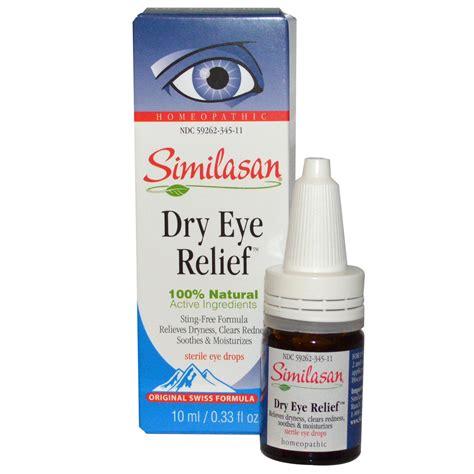 eye drops similasan eye relief sterile eye drops 0 33 fl oz 10 ml iherb