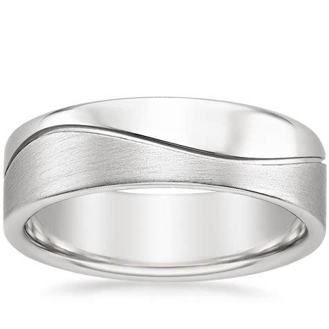 Wedding Ring Wave Design by Matte Wave Design Wedding Band Brilliant Earth