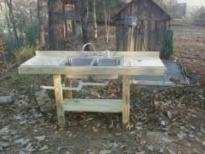 Outdoor Kitchen Sinks Ideas Outdoor Sink Farming Gardening Ideas Pinterest