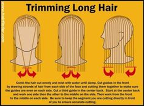what to avoid when cutting mens shag cutting techniques on pinterest