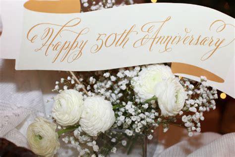 Simple Diy 50th Wedding Anniversary Smileydot Us Beautiful Ideas For 50th Wedding Anniversary For