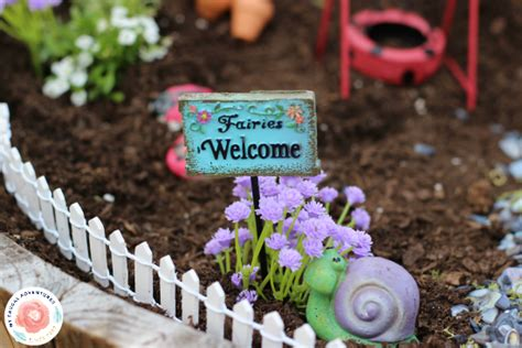 how to make a fairy garden for indoor or outdoor my frugal adventures