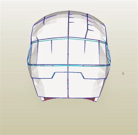 image gallery iron man helmet template