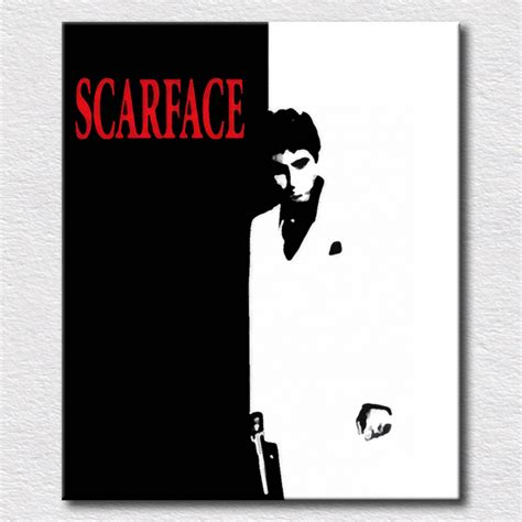 scarface home decor scarface poster painting pictures for bedroom decorative