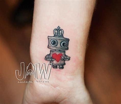 robot tattoos best 25 robot ideas on minimalist
