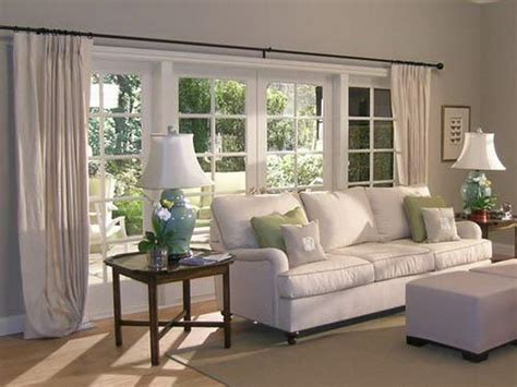 Doors Windows Living Room Curtain Treatment Ideas