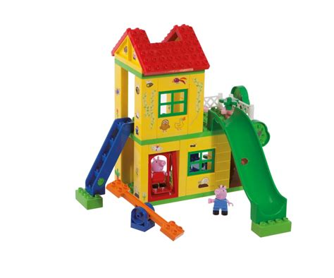 peppa pig play house playbig bloxx peppa pig play house toy baby toddler products www big de