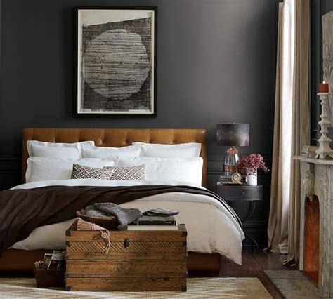 25 best ideas about white leather bed on