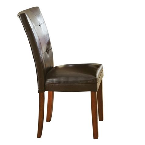steve silver company montibello parsons dining chair in