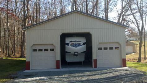 Gambrel Barn Plans 36x48x14 commercial garage in zions crossroads va