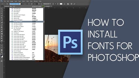 how to install 100 working photoshop cs6 or cc on ubuntu debian two easy ways to install fonts for photoshop cs6 cs5 cs4