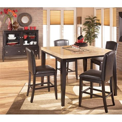 ashley naomi bedroom set naomi square counter height dinette signature design by