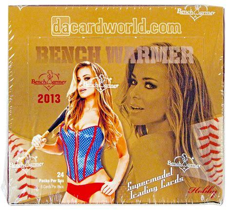 bench warmers cards benchwarmer hobby box 2013 da card world
