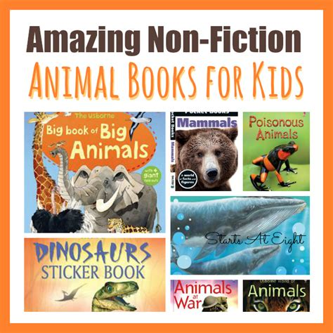 fiction books 15 awesome non fiction animal books for startsateight