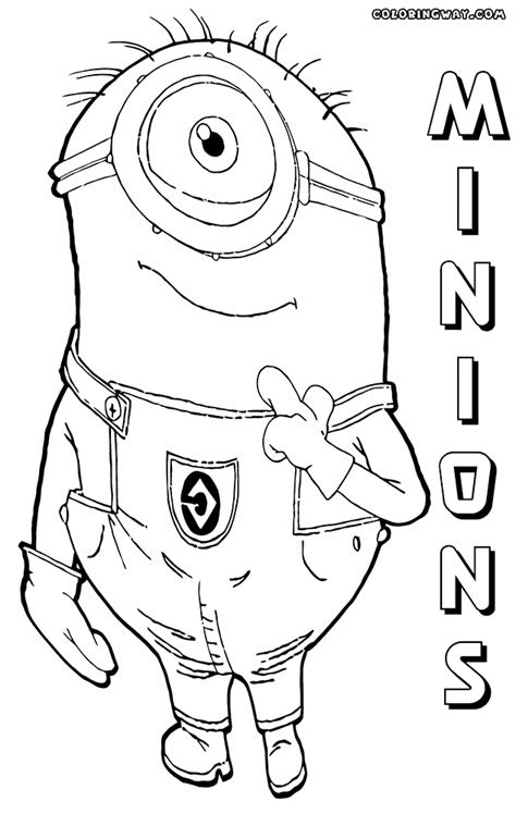 pirate minion coloring page minions coloring pages coloring pages to download and print
