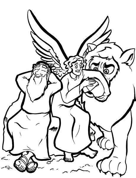 Daniel 6 Coloring Pages by Daniel In The Lions Den Coloring Page Children S