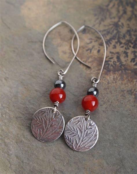 Silver Handmade Earrings - silver earrings handmade earrings aventurine earrings
