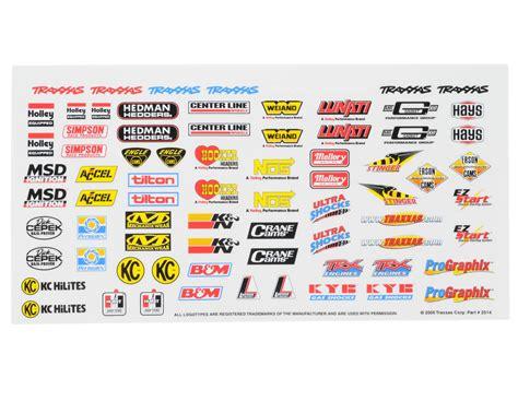 Sponsoren Aufkleber Rc Car by Traxxas Sponsor Aufkleber Set Trx2514 Mk Racing Rc Car Shop