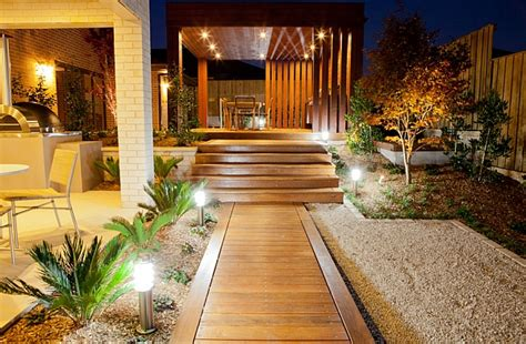 Outdoor Lighting Sydney A Trail Of Lights To Surround The Home In Brilliance