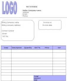 Vat Invoice Template by Vat Invoice Template Invoice Templates