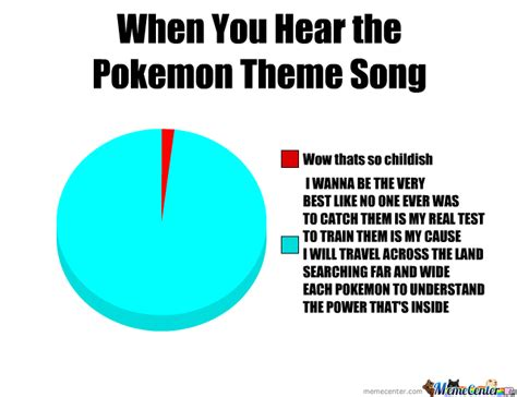 Theme Meme - when you hear the pokemon theme song by infinitebojan