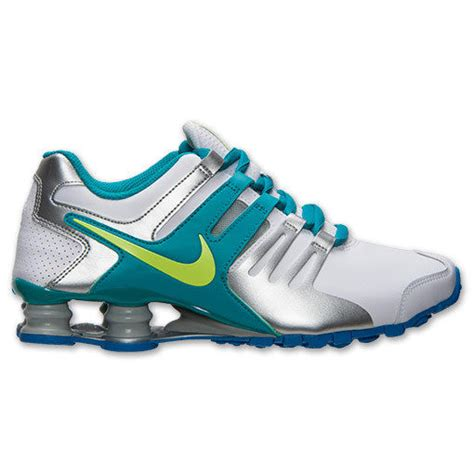 nike shox current white teal volt silver 639657 101