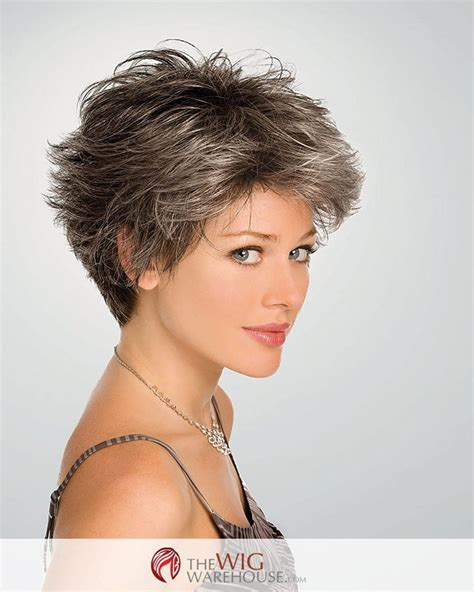 short gray hairstyles with wedge in back pictures of back wedge grey haircuts short bob with